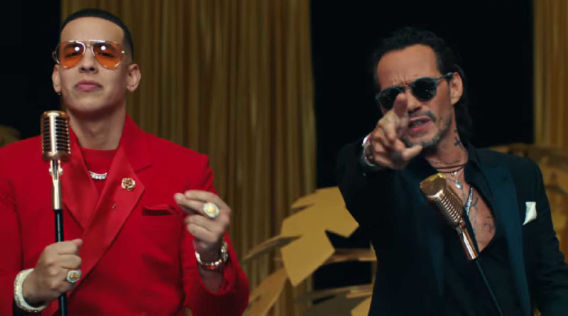 Daddy Yankee y Marc Anthony